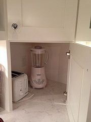 Hideaway for Appliances