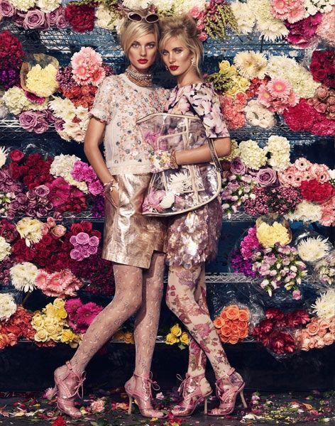 Giovanna Battaglia - W Magazine - Bloom Town: