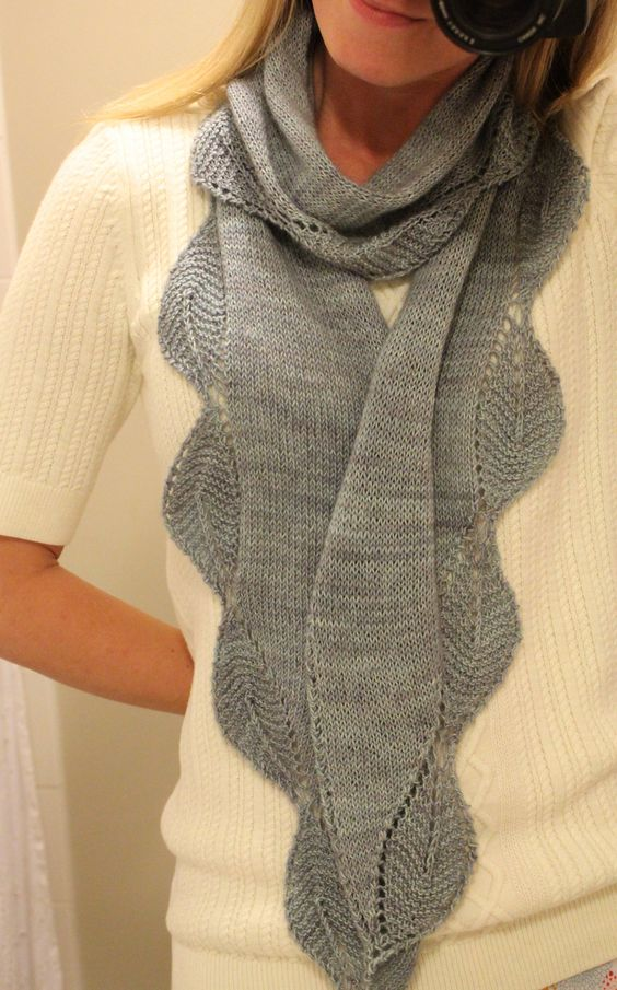 garden view shawlette by tracey withanee free knitted