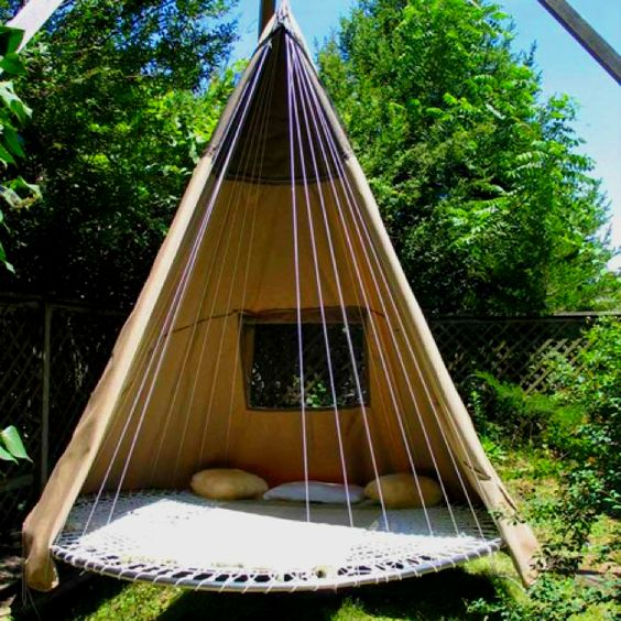 Mountain Ideas | Pinterest | Trampolines, Backyard Camping and Swings