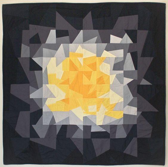 'Fracture' quilt