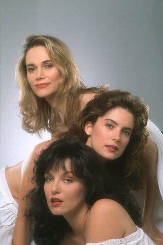 Peggy Lipton, Lara Flynn Boyle and Sheryl Lee, Twin Peaks