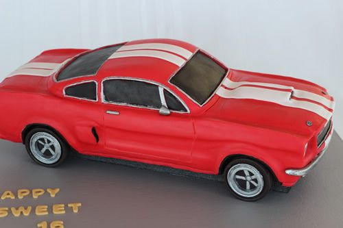 A Shelby Mustang Cake and a Mike McCarey DVD Giveaway | Sweet Dreams Cake App – IPhone, IPad, IPod Cake Decorating App