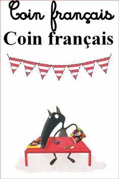 Coin français pour la salle de classe, FLE.