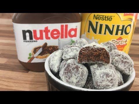 Bala Gourmet De Nutella Youtube Nutella Ideias Receitas