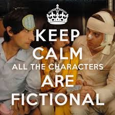 all the characters are fictional