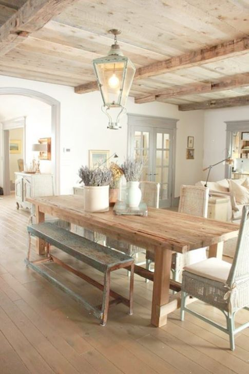 Cottage Style Dinning Cottage Style Dining Room Via 24