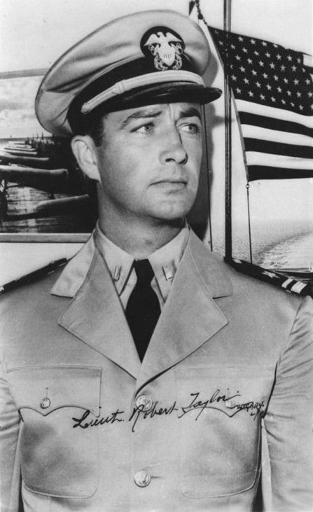 Robert Taylor, Veteran | Actor  During World War II, he served in the United States Naval Air Corps where he worked as a flight instructor and appeared in instructional films.