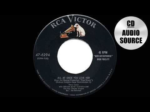 Perry Como - All At Once You Love Her lyrics, pdf - Musicandlyrics