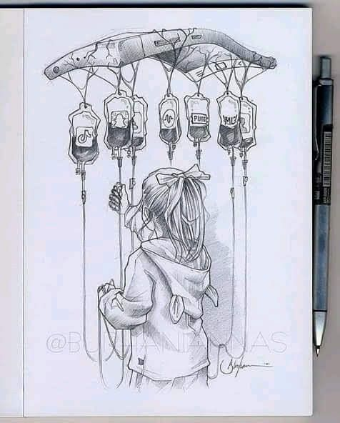 Pin By Sofiya Zgibneva On Posible Dibujo Meaningful Drawings Art Drawings Sketches Simple Art Sketches