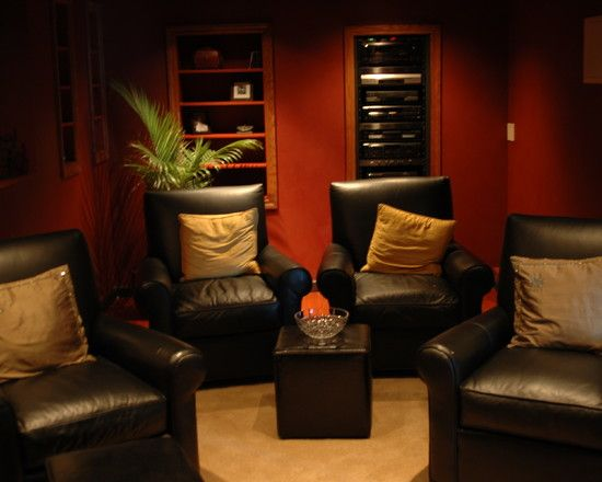 35 Modern Media Room Designs That Will Blow You Away | Small space ...