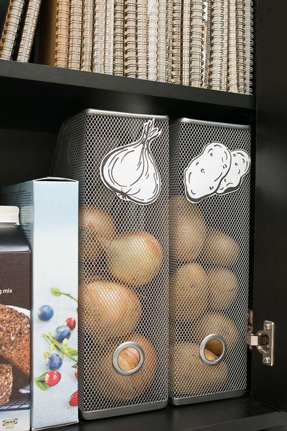 ASTUCE: «the place to be» pour pommes de terre et oignons
