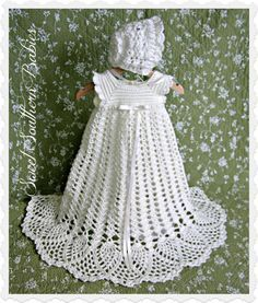 Christening Gown / Blessing Gown / Baptism by SweetSouthernBabies, $86.00