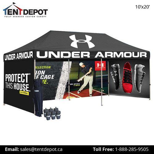 10x20 Tent Full Side Walls Canopy Tent Custom Canopy Tent Design