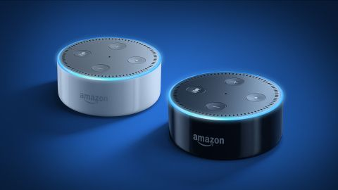 Amazon's connected speaker Echo Dot is back in stock and at a lower price point of $49.99. The Alexa-powered device offers many of the same features that you'll find in its larger counterpart, the Amazon Echo, including access to Amazon's voice-based assistant who you can ask to do things like play music, read the news, check the weather, turn on your lights, set timers, use apps, and more.