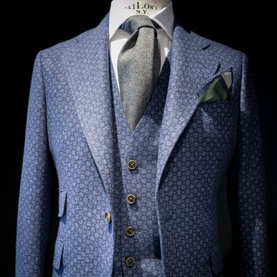 Do you know our Printed wool three pieces suit Collection? / ¿Conoces nuestra coleccion de trajes tres piezas de lana estampada?