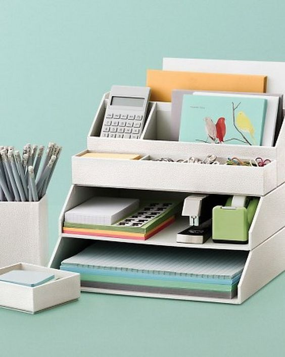 20 Creative Home Office Organizing Ideas Creative