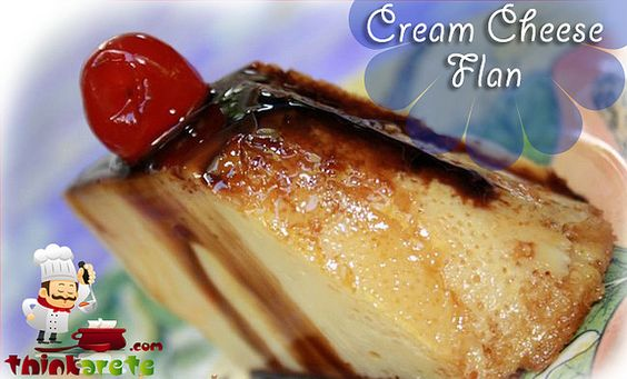 Cream Cheese Flan Full Recipe with image and Nutrition Facts
