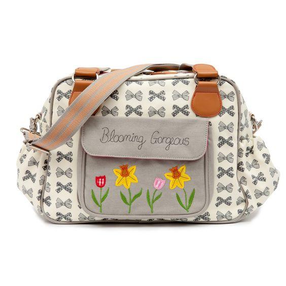 Blooming Gorgeous Changing Bag | Pink Lining