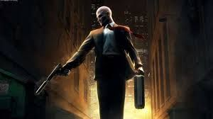 Agent 47 on his way to work!