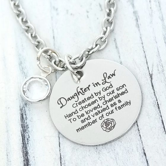 Personalised Silver Large Girl /& Jingle Bell Necklace Free Engraving