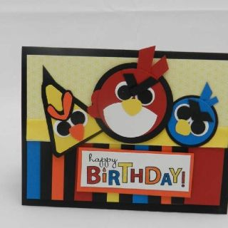 Angry Birdday by Becky