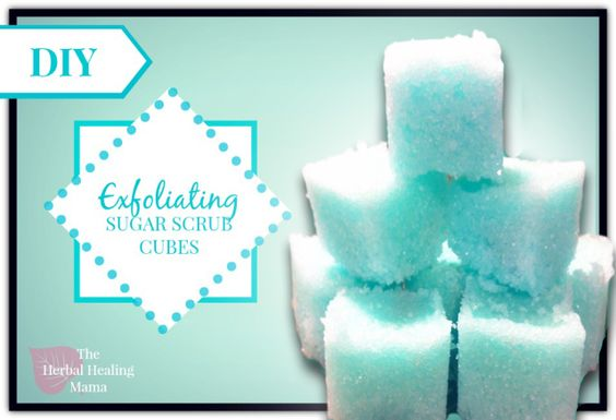 hacer sus propios cubos de fregar azúcar