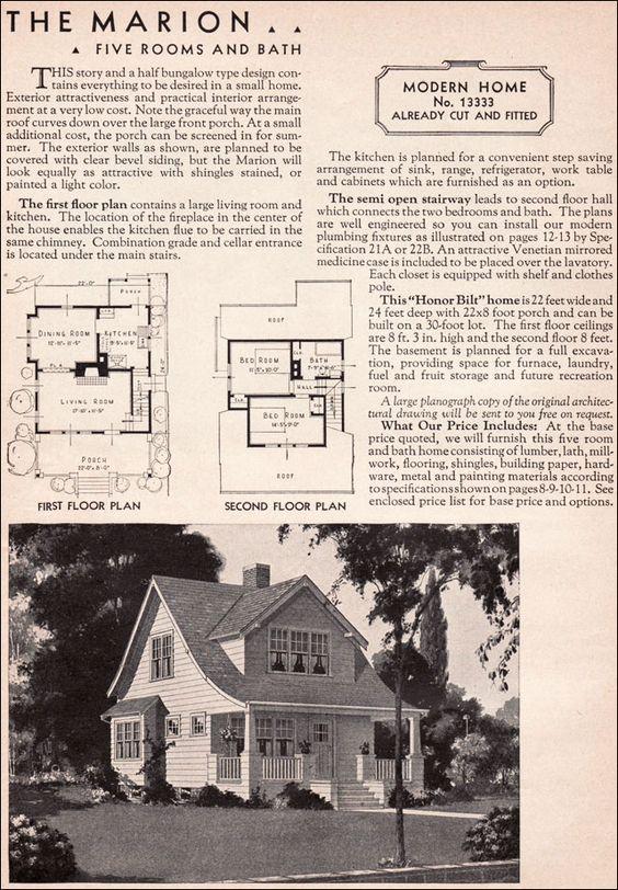1936 Sears Kit House