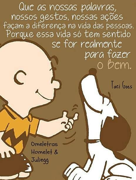 Omeletras - Homelet & Juliegg com Snoopy e Charlie Brown