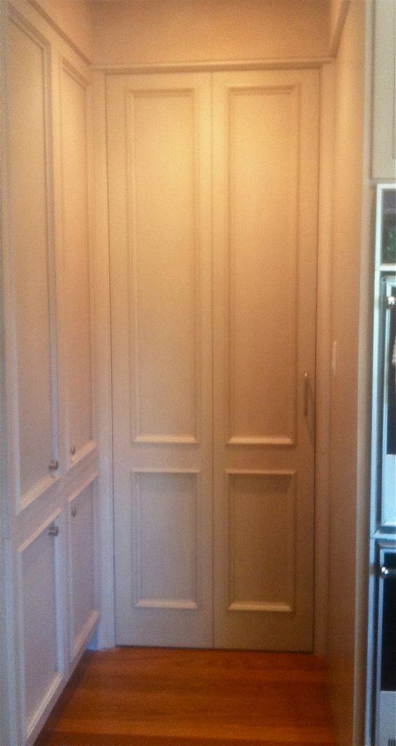 Back Door To Kitchen To Match Cabinets Los Altos Hills CA JTD