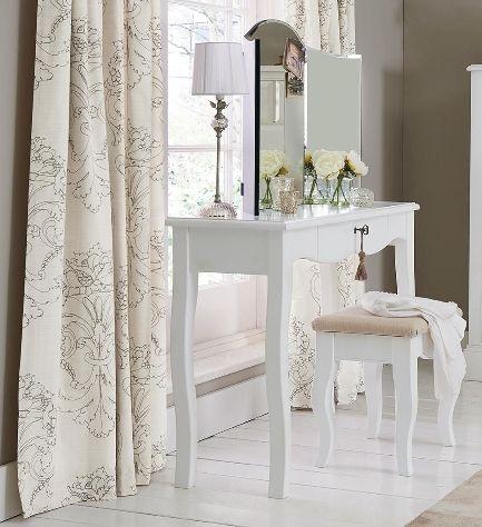 next dressing table white 2