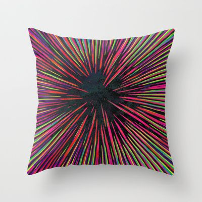 BOOM! Throw Pillow by Georgiana Paraschiv - $20.00