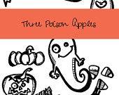 Halloween - Digital Clip Art - Scrapbooking Material - Clip Art for Teachers