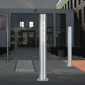 Stylische Absperrsysteme inkl. LED-Beleuchtung für Discotheken, Messegelände oder Firmengelände! Ein echter Hingucker, sogar individualisierbar mit Ihrem Firmennamen oder Slogan! Und das Ganze ist auch noch solarbetrieben - gibt´s natürlich bei AWAG unter http://www.awag.de/…/Edels…/SOLAR-LED-Sperrpfosten--365.html!