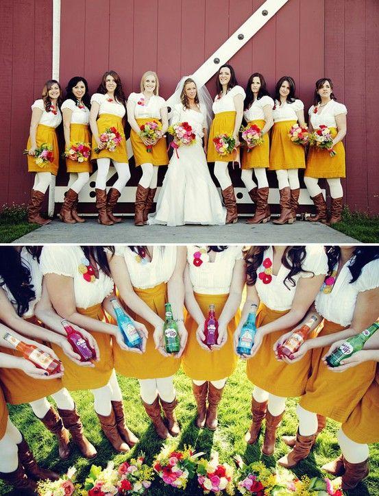 Miss Indie: 'I Do' Sunday: Brides + Bridesmaids