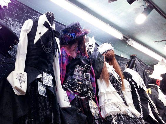 Lolita dresses at SEX POT ReVeNGe in Tokyo. Photo by alphacityguides.