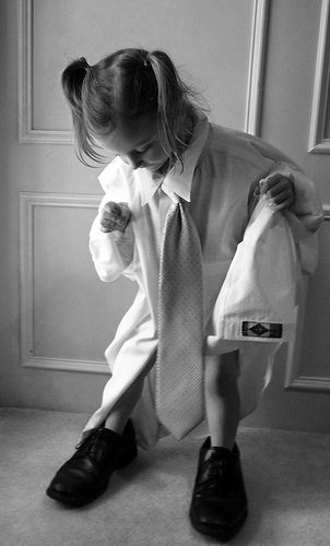 Big Shoes to Fill | Pinterest | Girls dress up, Dads and Girls