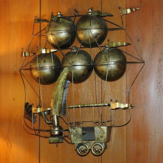 Steampunk Home Decor Via Etsy