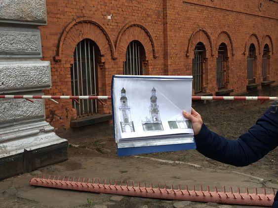 Что было над воротами в Пиллау. Фото: Vladimir Shveda