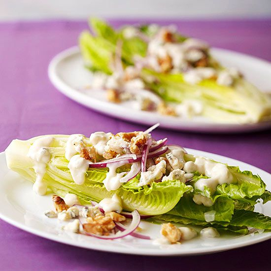 Romaine Hearts with Blue Cheese