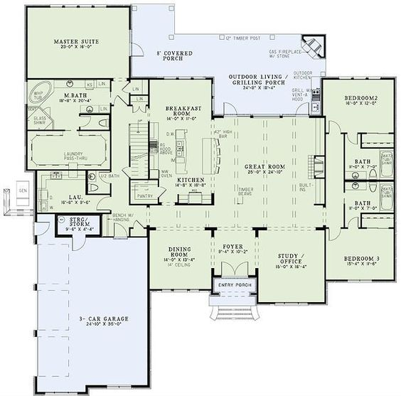 Awesome Floor Plan With Huge Master Walk In Closet And