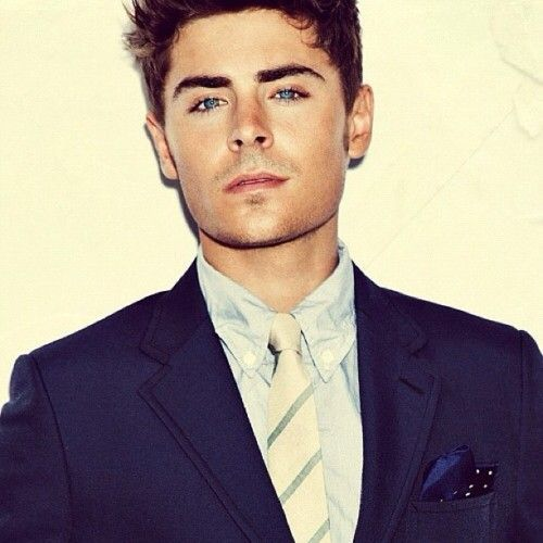 Attractive=I'm a sucker for blue eyes & a suit