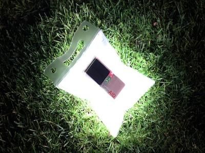 Solar Powered Lights from LuminAID