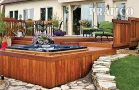 Patio avec spa int gr recherche google patio for Piscine spa integre