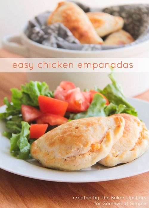 Easy Chicken Empanadas | To share, My family and Pies