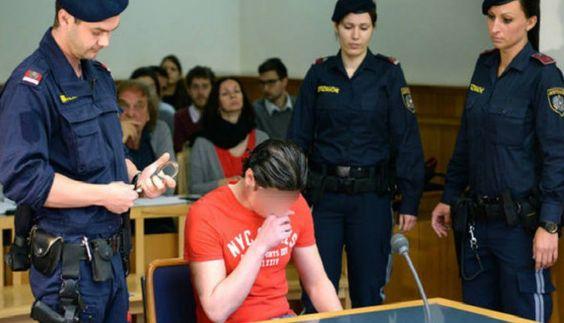 """Irakijczyk, który brutalnie zgwałcił na basenie 10-latka, nadal chce sprowadzić do Austrii rodzinę   Matka zgwałconego 10-latka: """"żałuję, że wychowywałam dzieci w duchu tolerancji""""  Irakijczyk nadal jednak utrzymuje, że gwałtu dokonał z powodu wyższej, seksualnej konieczności. Z zeznań policyjnych wynika, że imigrant nie odczuwał w swoim rodzinnym kraju pociągu seksualnego do chłopców i że w Iraku prowadził on normalne życie, u boku swojej żony i dziecka.:"""