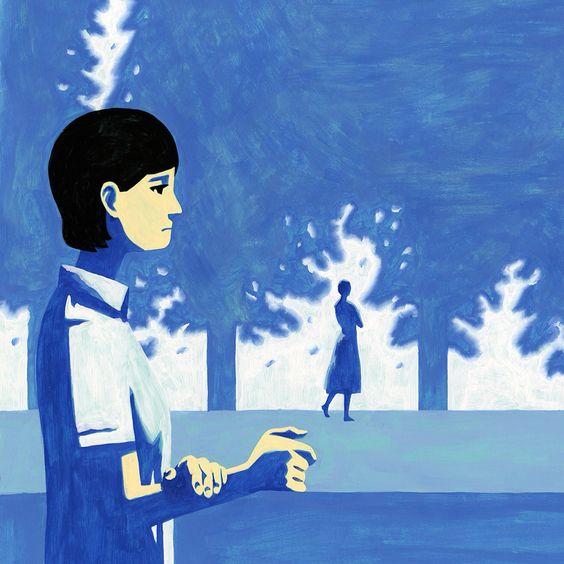 イラストレーション 女性 女の子 森 植物 物語 illustration girl forest