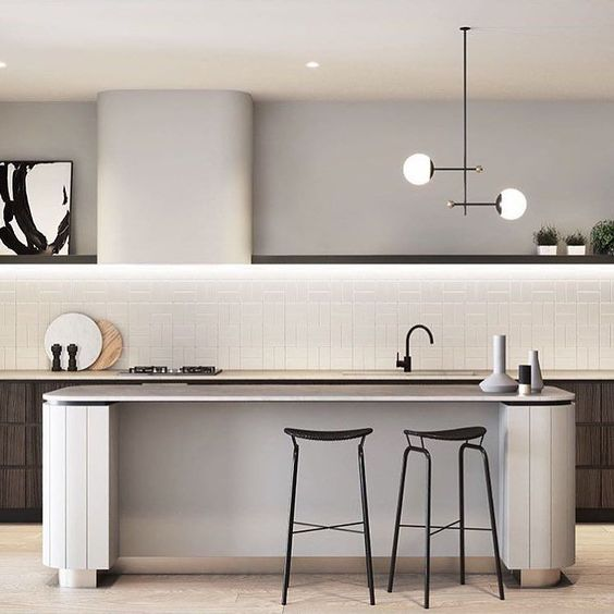 Crushing hard on this kitchen by @mimdesignstudio seriously  . . . . . #mimdesign #kerryarmstrongart #architecture #interior #design #melbourne #australia #archdaily #mydomaine #interiorarchitecture #love #residentialdesign #interiorstyle #pipandpencil #wellnessarchitect  #interiorinspo