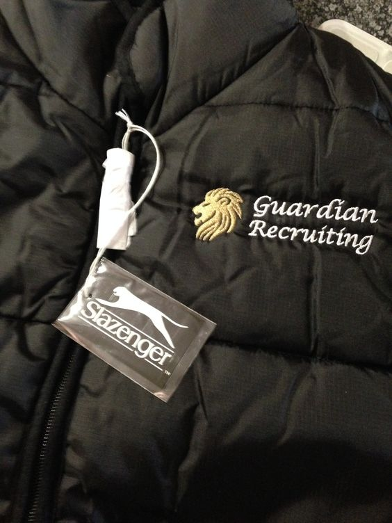 #branded clothing done for Guardian Recruiting
