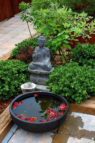 Zen meditation garden indoor simple plans google search for Japanese garden meditation